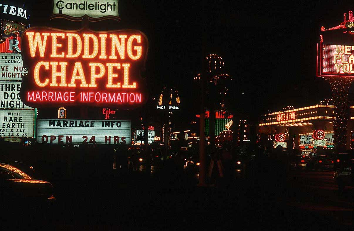 Casino wedding chapel
