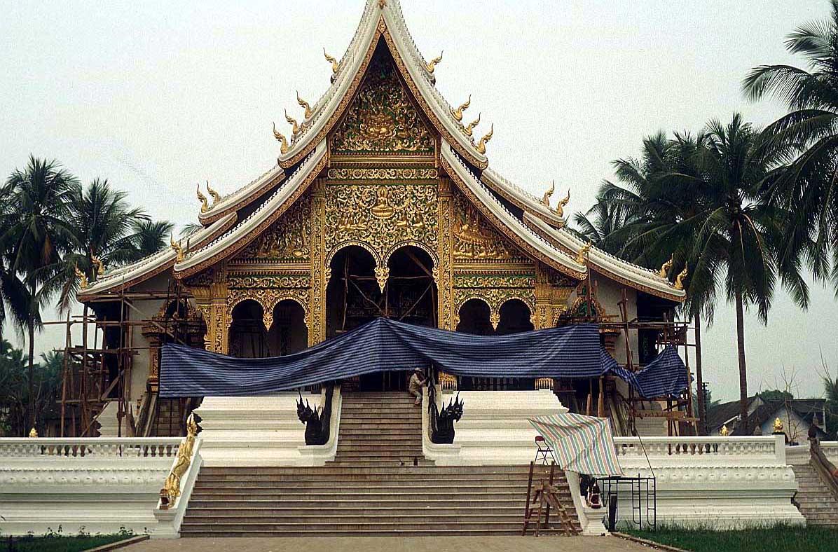 laos temple, luang prabang : Indo-China