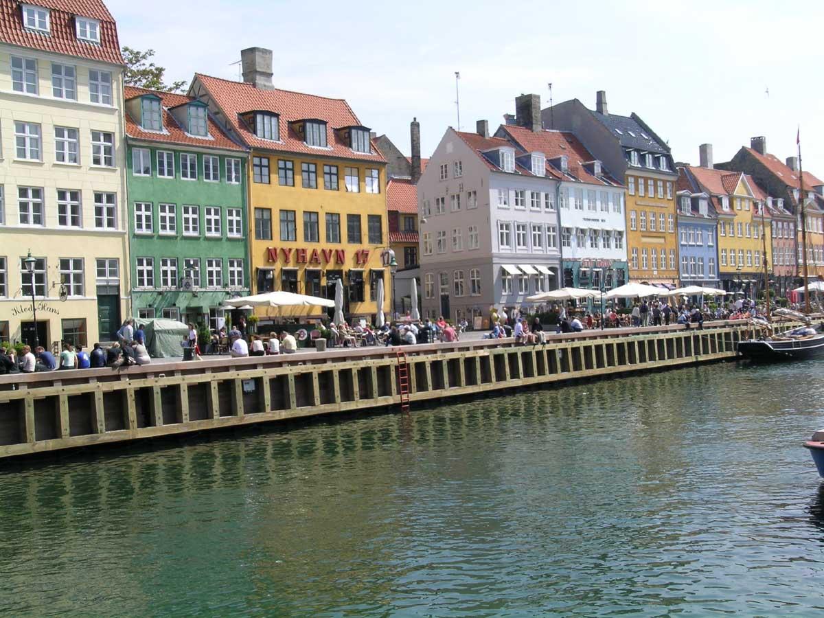 europe, copenhagen, tourists