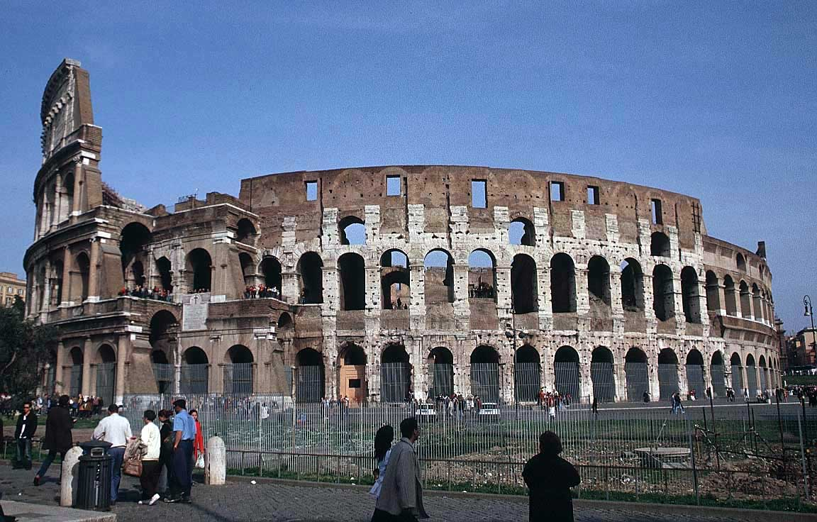 Rome, Italy, Europe. Pictures Colosseum, Roman Forum, Palatine ...