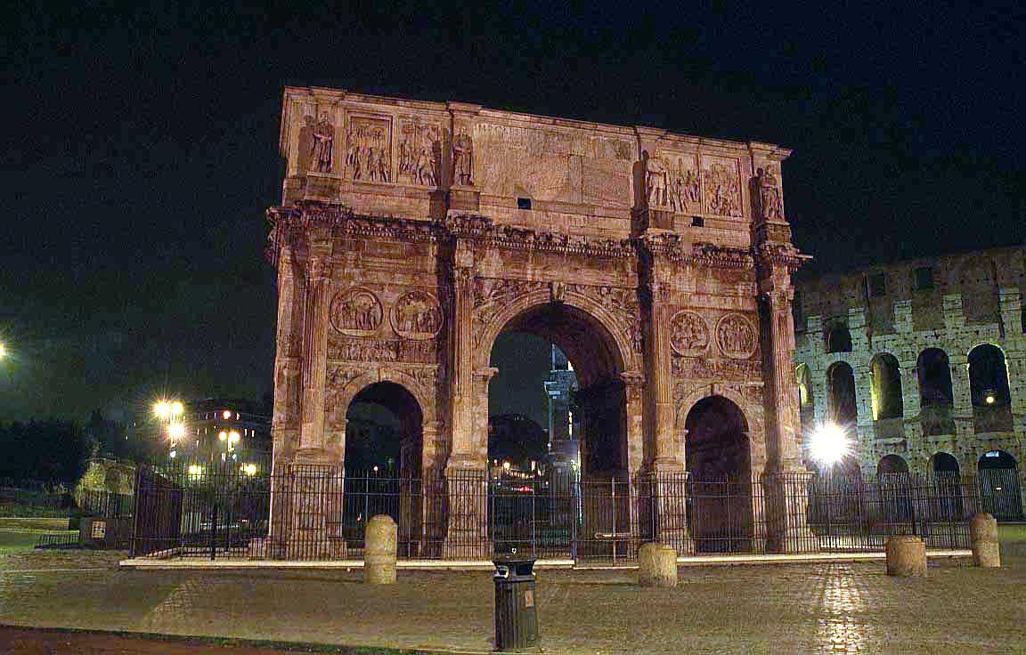 روما - ROME Constantine-arch