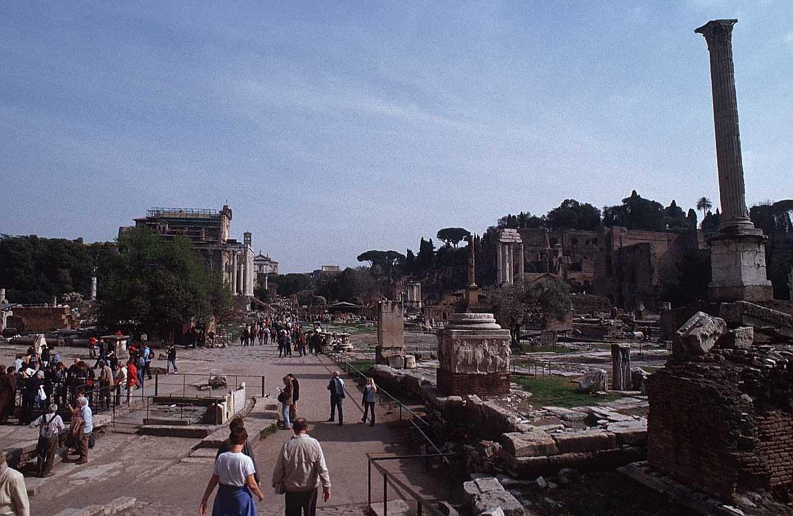 روما - ROME Foro-romano-rome-2w