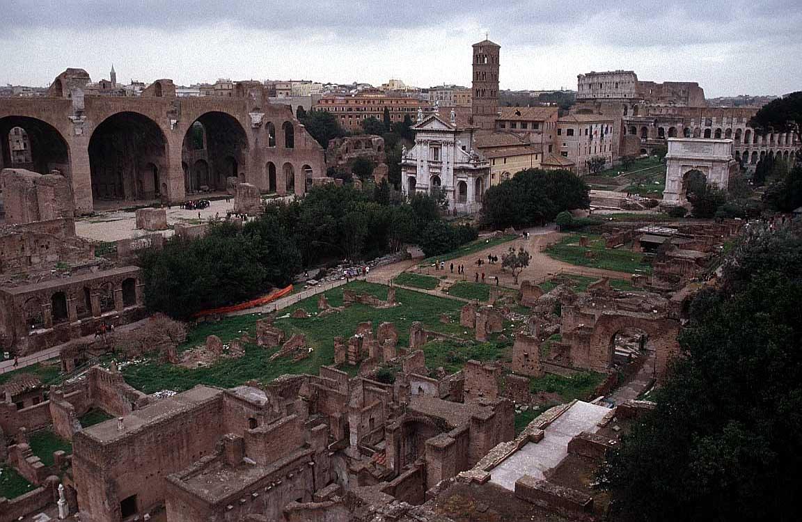Forum Romanum, Rome, Italy / FCO Rome - Roman Forum Romanum - Arco ...