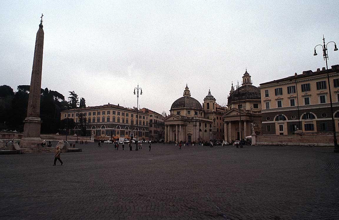 روما - ROME Piazza-popolo