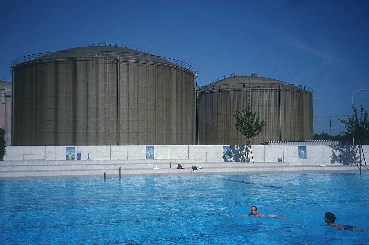 History of photography 3 - Swimming pool bonn ...