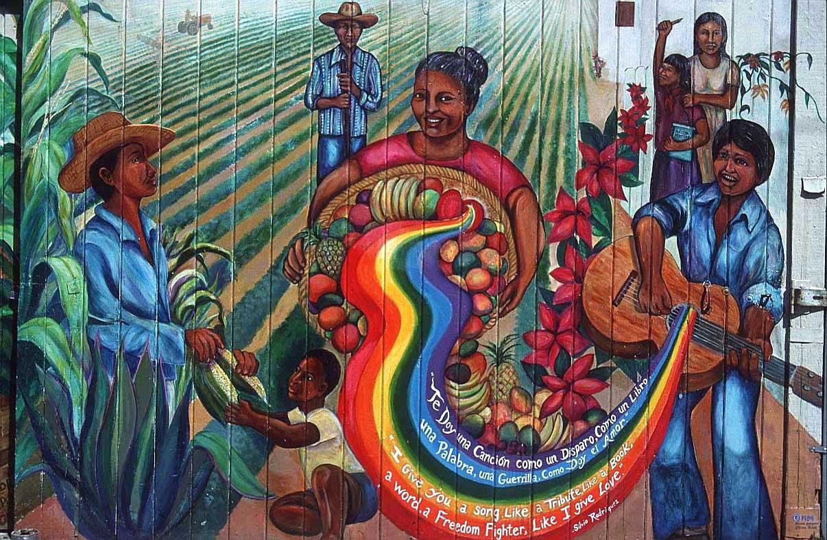 muurschildering sf